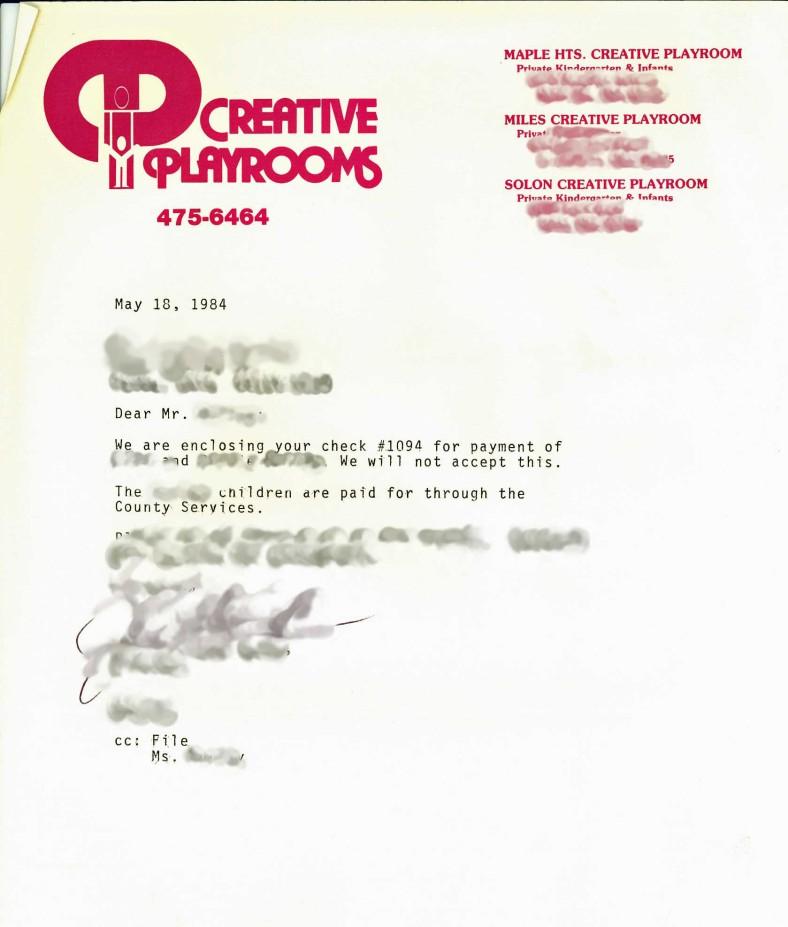 Creative Playrooms letter Irishgirl355