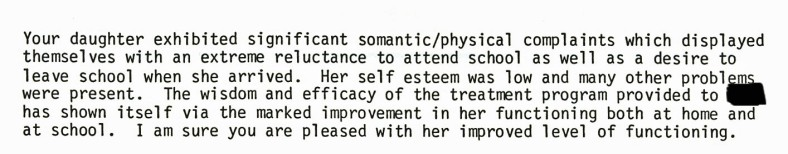 Feb 1984 Psychologist Report
