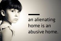 An alienating home
