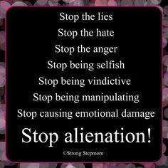 Stop the lies etc.