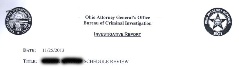 2013 Investigative Report